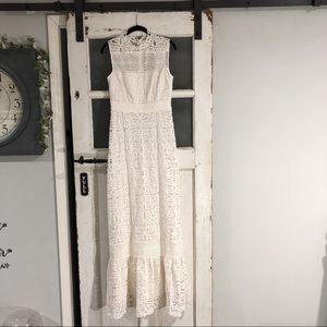 BHLDN Anthropologie Ojai Lace Wedding Dress 4